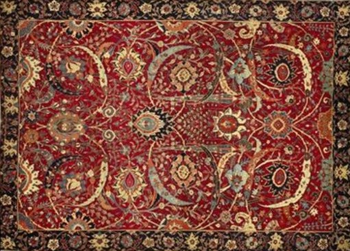 how much is a rug worth 17th Century Persian rug