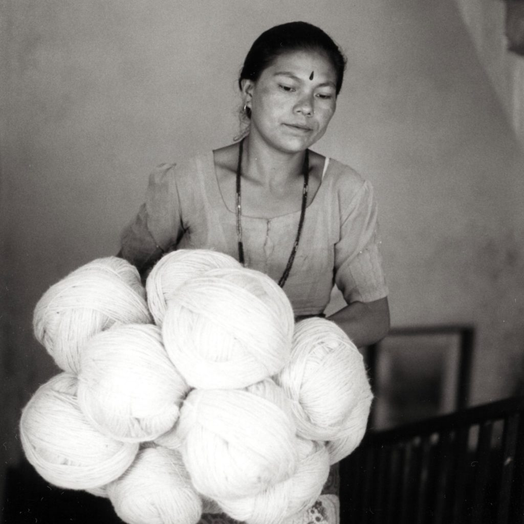 wool for rug making