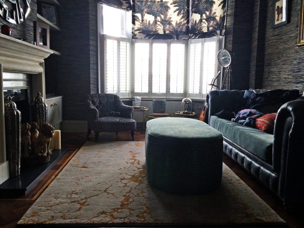 rugs for autumn - levantine gold by bazaar velvet