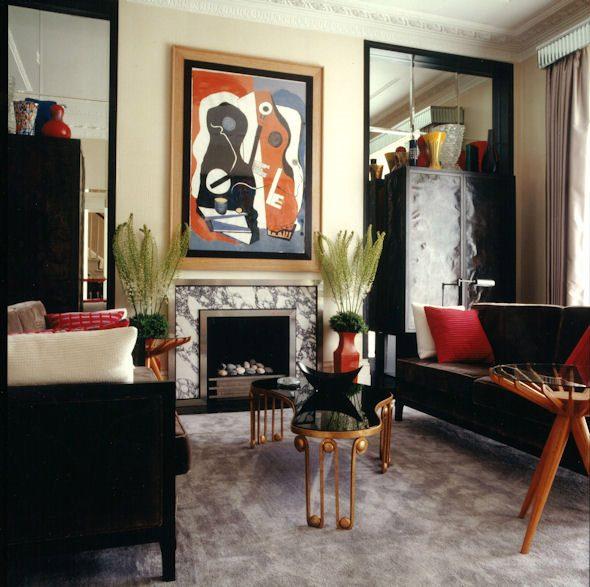 Small living room furniture interior designed by Collett-Zarzycki