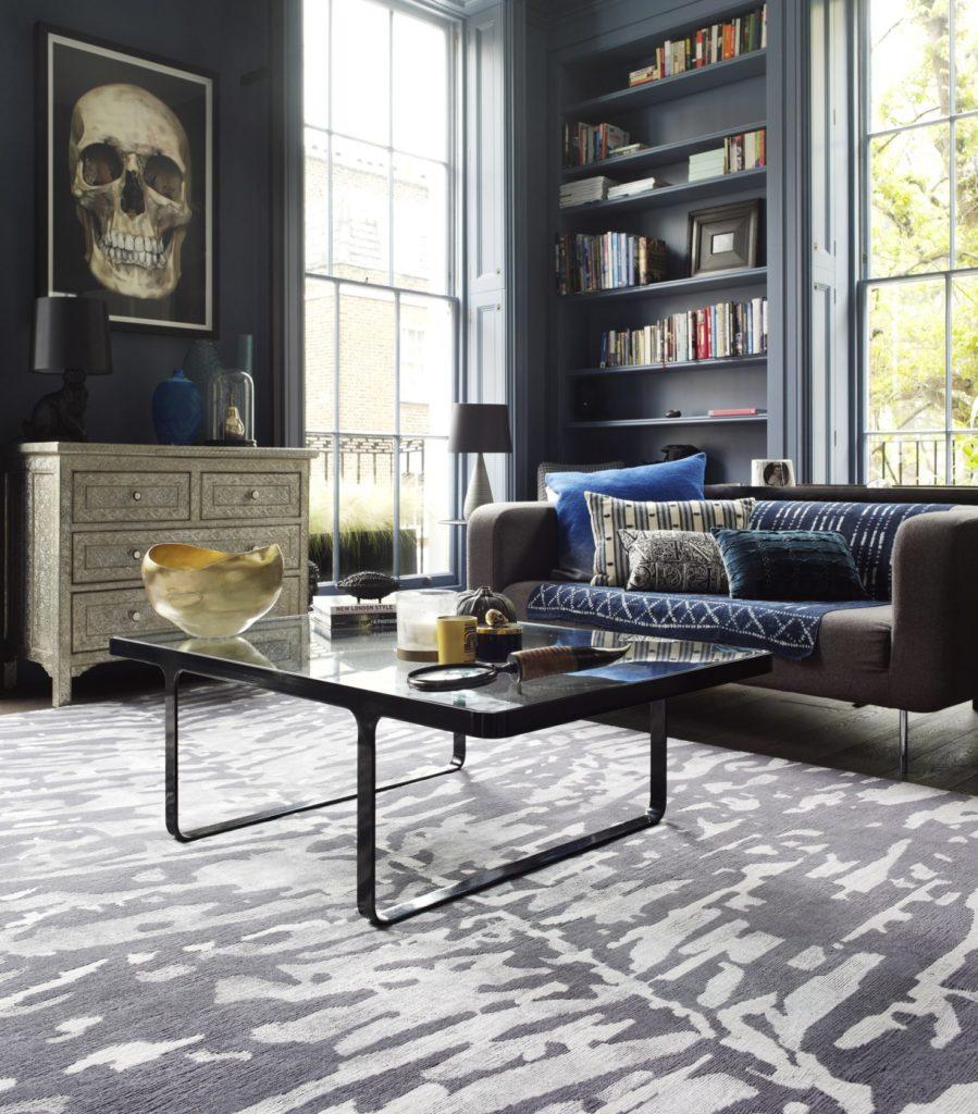 rug styling fern rug