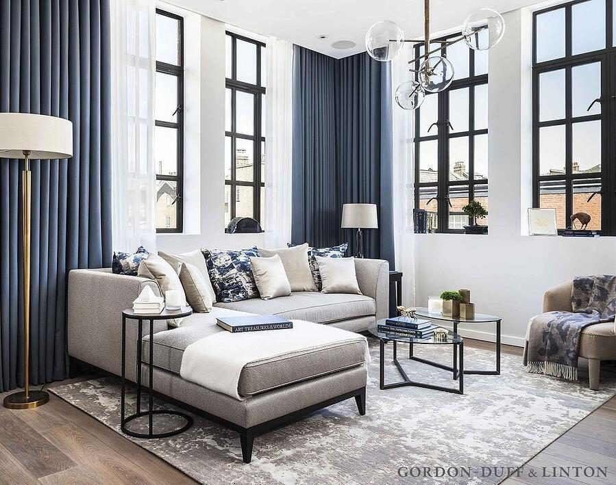 small living room by gordon-duff-linton featuring rug by Bazaar Velvet