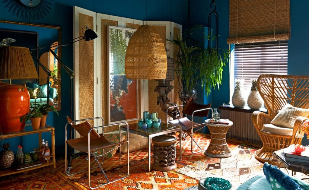 rattan interior design
