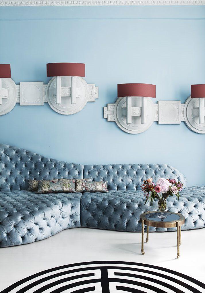 interior design 2018 pale blue