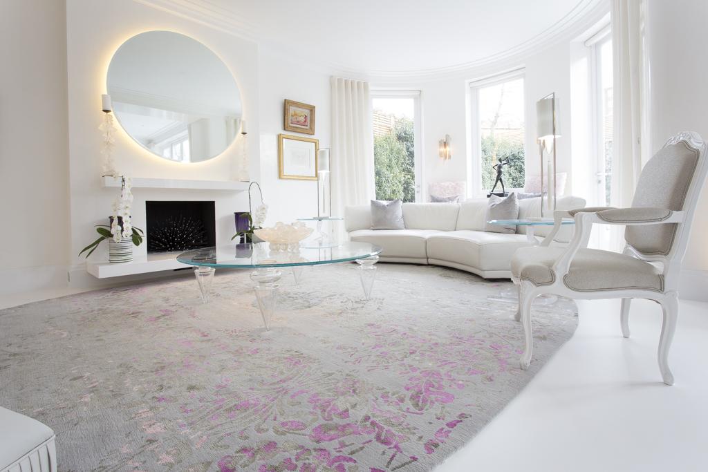 oriental- inspired luxury rugs