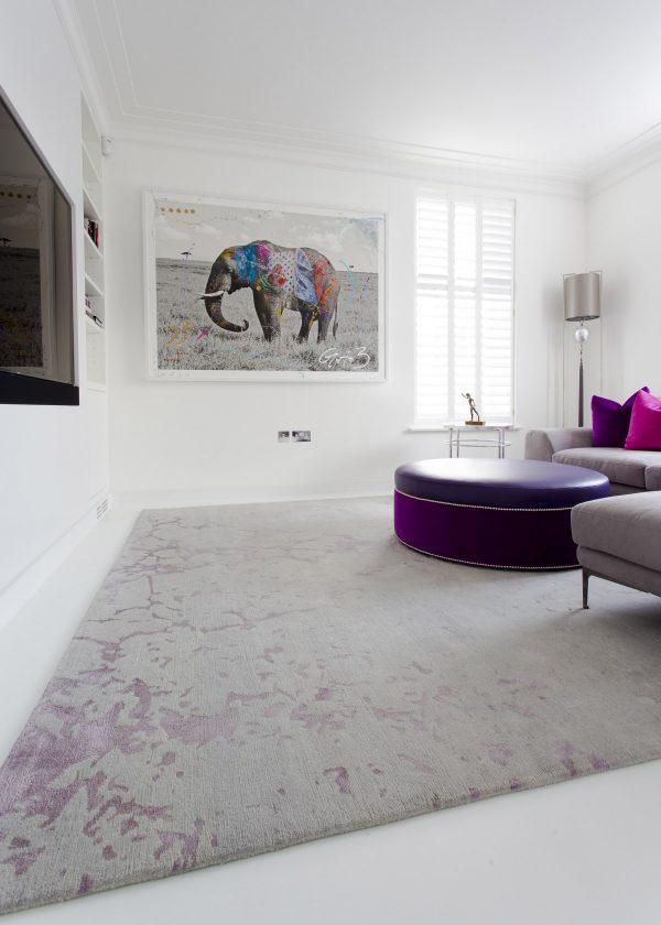 levantine bespoke rug by bazaar velvet