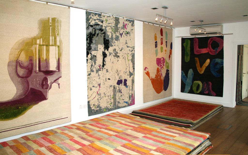 London show Rug Room | Bazaar Velvet