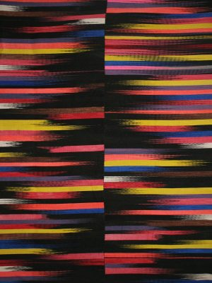 flatweave-rug-with-black-and-multi-colour-stripes