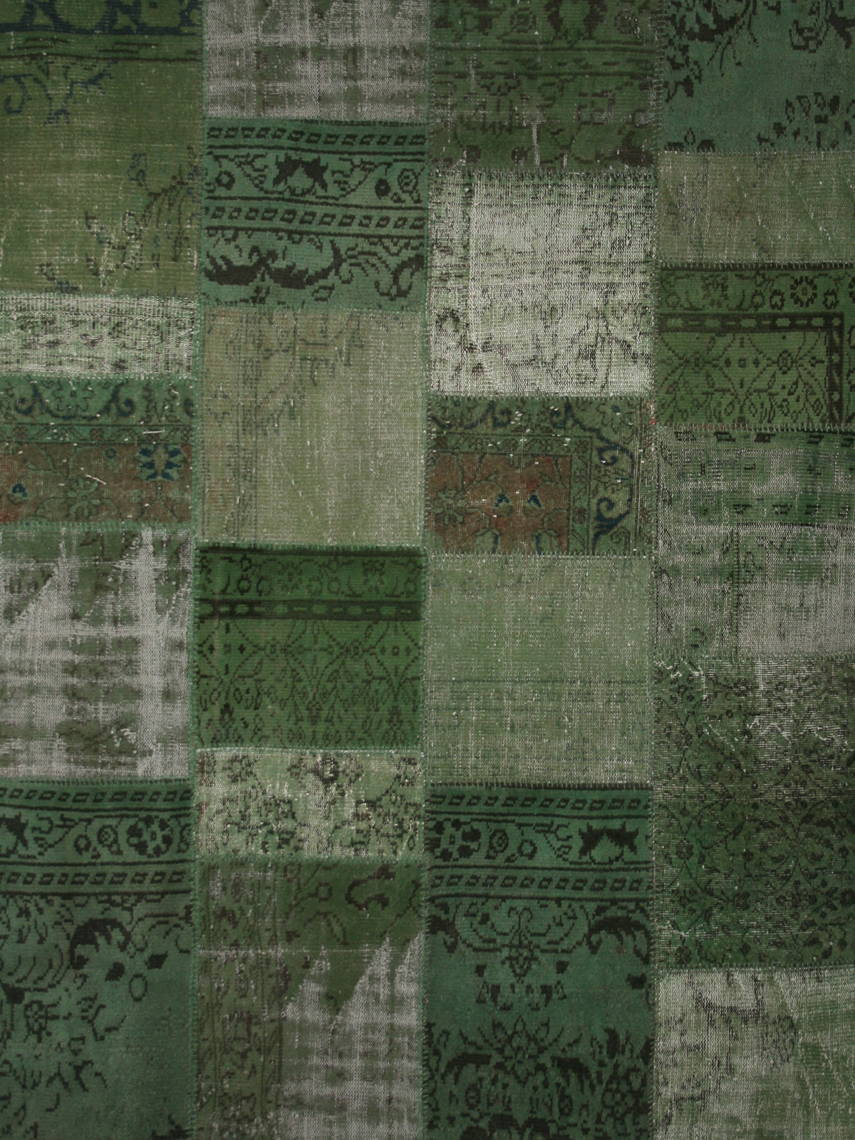 Created From A Selection Of Shaved And Re Dyed Turkish Vintage Rugs Carefully Hand Sched Together To Create Beautiful New Rug Perfect For Modern Day
