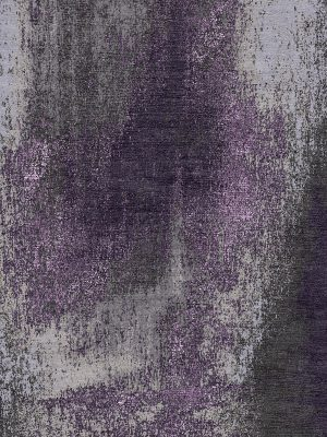 purple modern rug with silk highlights