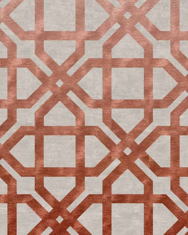 Geometric Large Scale Rug | Bazaar Velvet