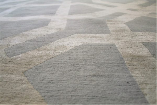 luxury grey rug