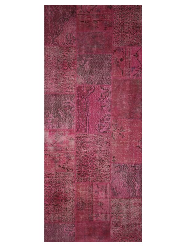 Large maroon rug - bazaar velvet