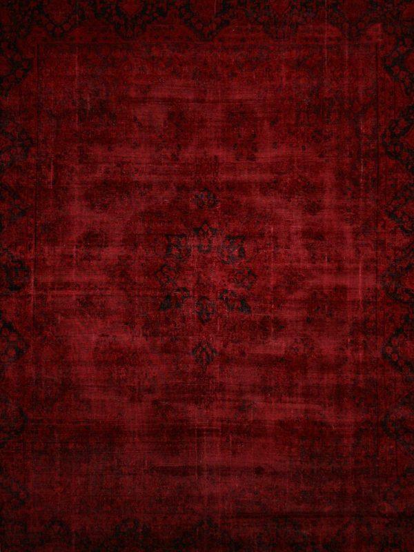Red Persian Rug - bazaar velvet