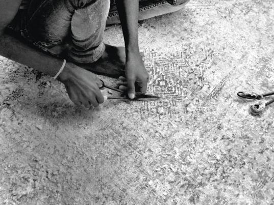 silk rugs london - Bazaar Velvet