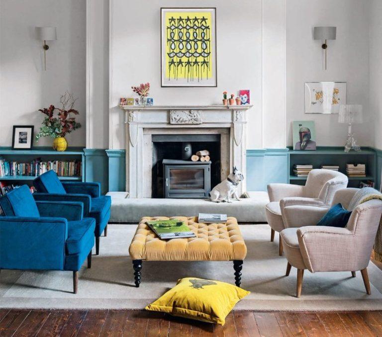 contemporary living room rug - Bazaar Velvet