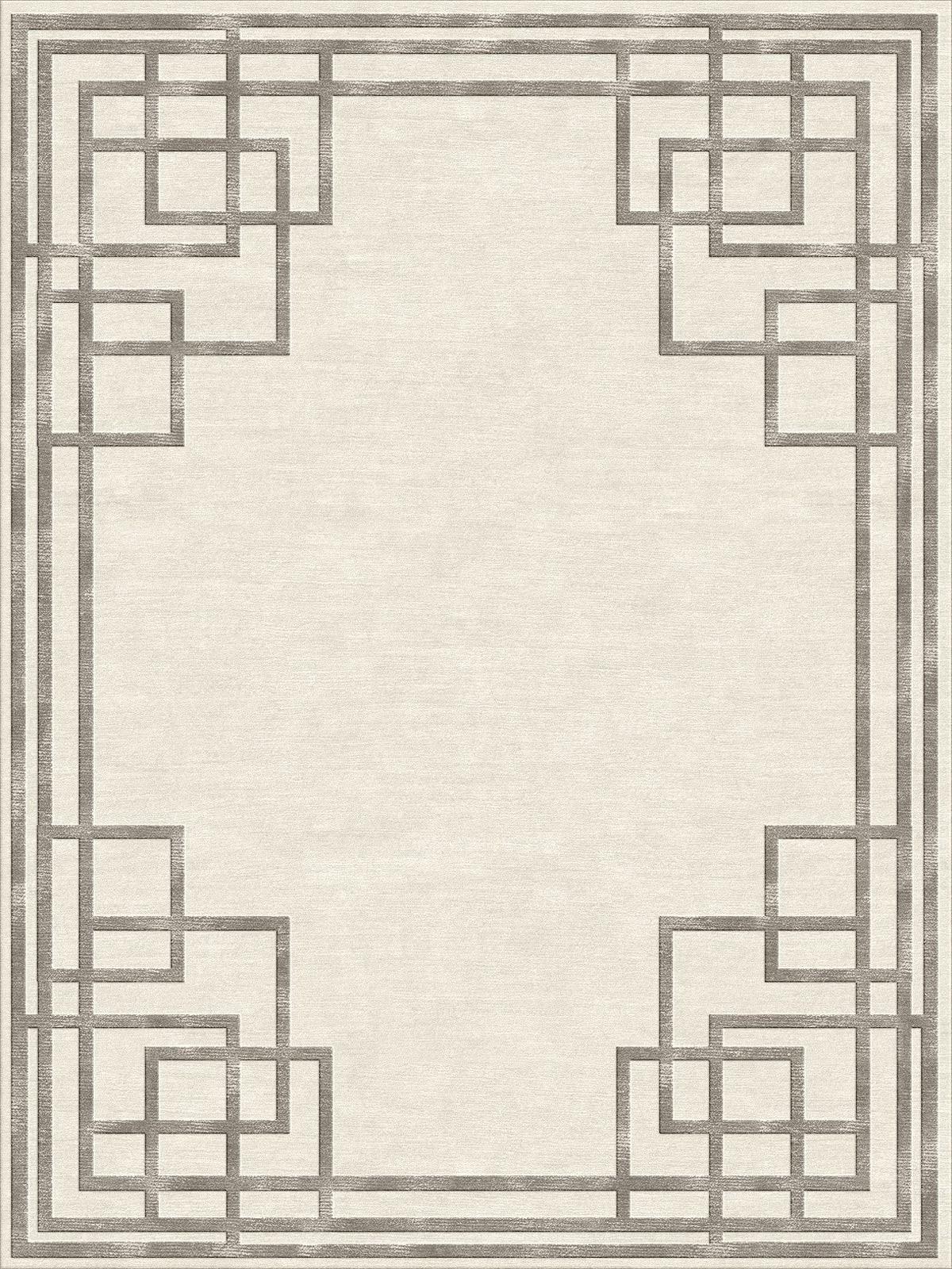 contemporary rug geometric