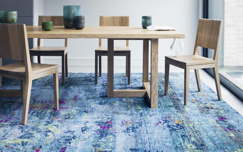 rug colour guide blue rug