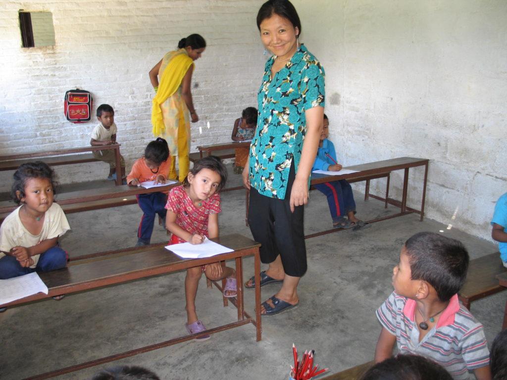 education in weaving communities