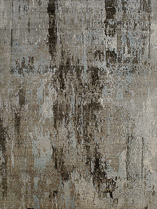 grey and blue abstract design luxury rug