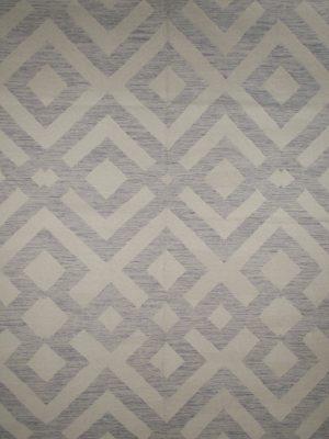 purple geometric wool rug