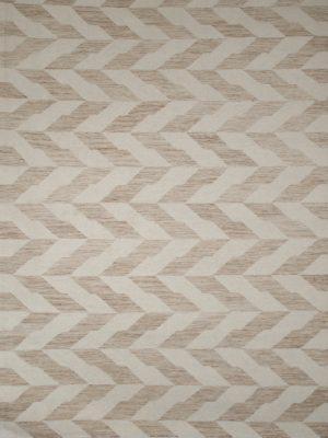 yellow geometric wool rug