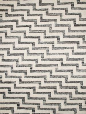 black-and-white-striped-kelim