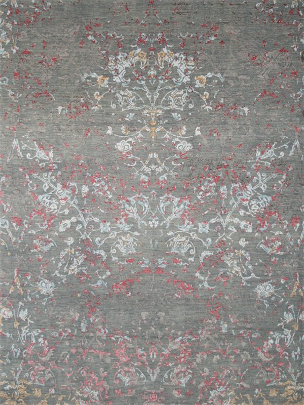 transitional rug grey and pink