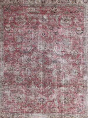 distressed rug vintage rug wool