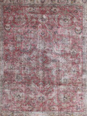 distressed rug vintage rug wool