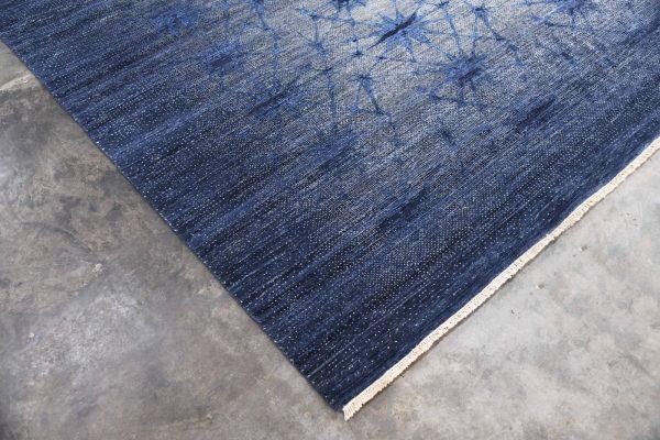 luxury blue rug