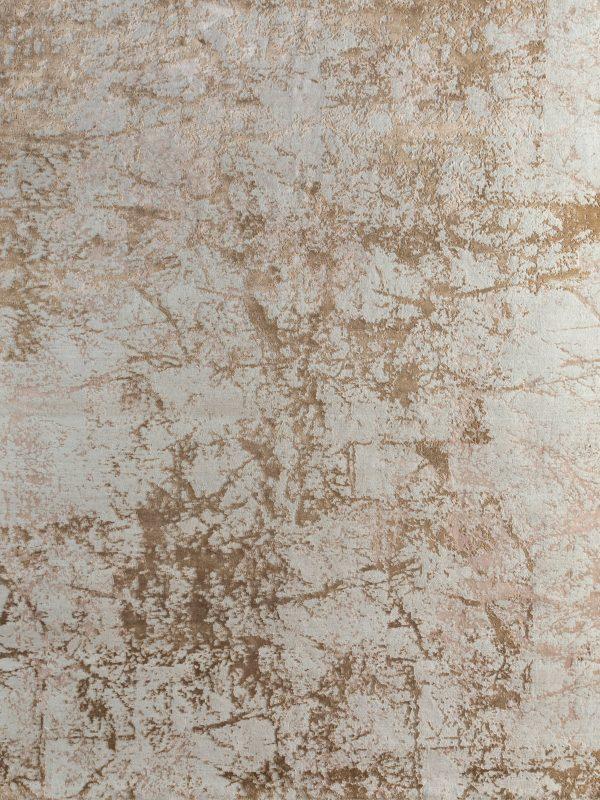 bronze and copper designer rug
