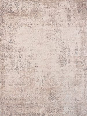 neutral modern abstract rug