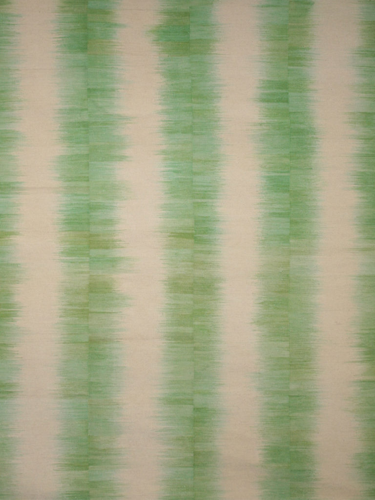 green striped rugs