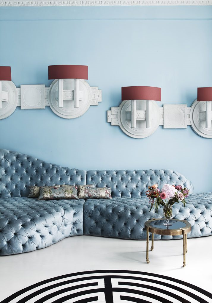 interior design 2018 pale blue
