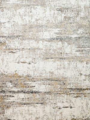 neutral modern rug in bamboo silk
