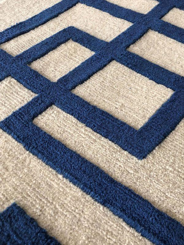 close up of rug
