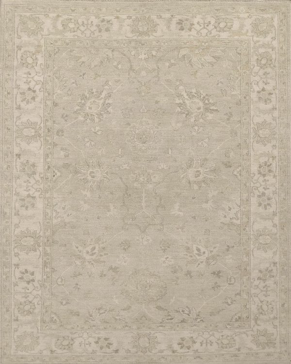 classic rug in faded neutral colours