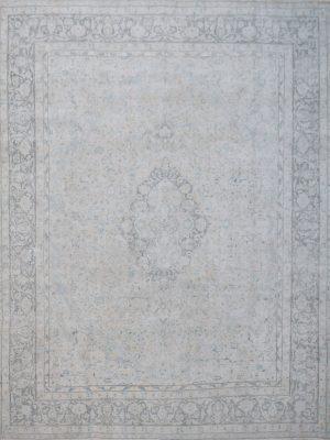 faded vintage rug
