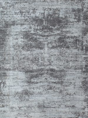 blue and grey modern abstract rug