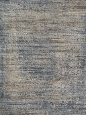 modern rug with bamboo silk