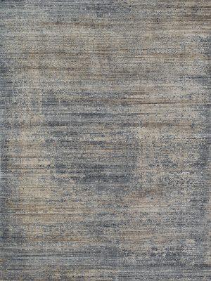 modern rug with bamboo silk