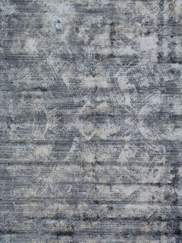 modern blue grey rug