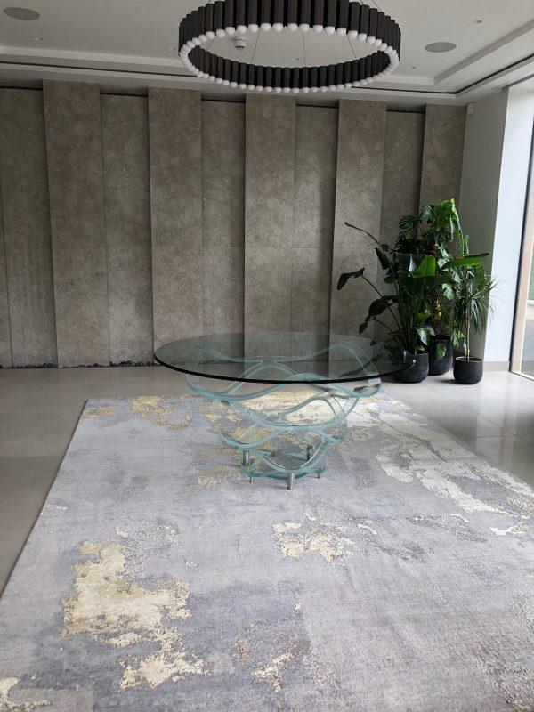 luxury abstract rug