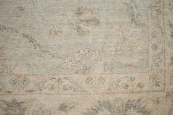 vintage style rug close up
