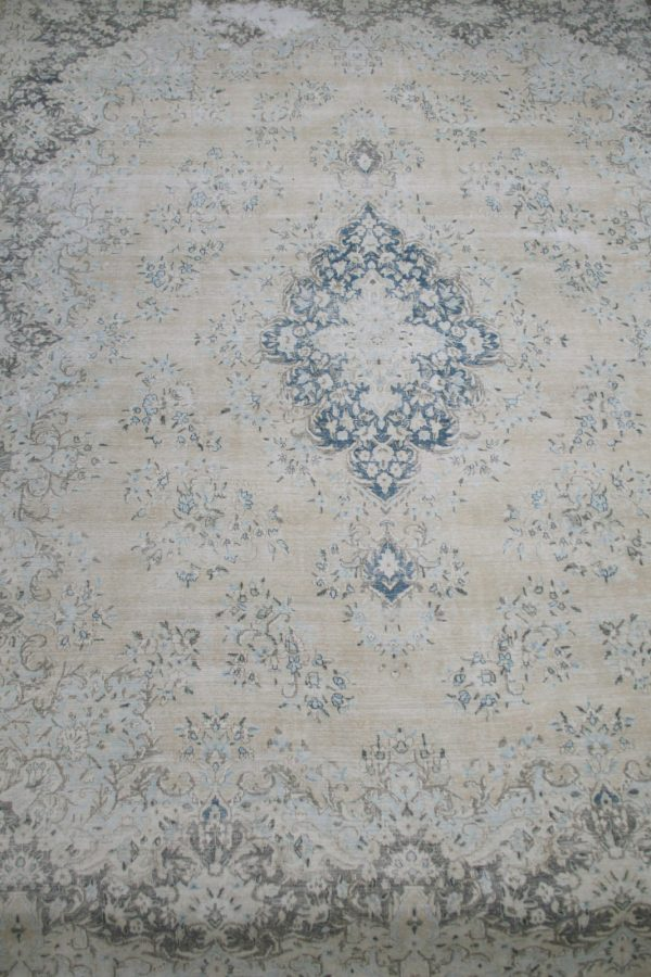 faded distressed rug
