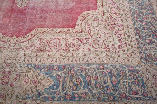 red reformed rug
