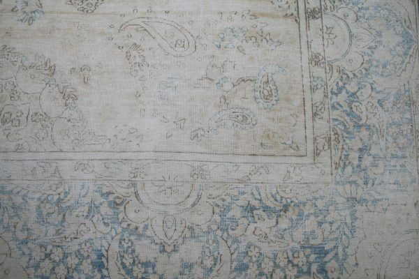 distressed vintage persian rug
