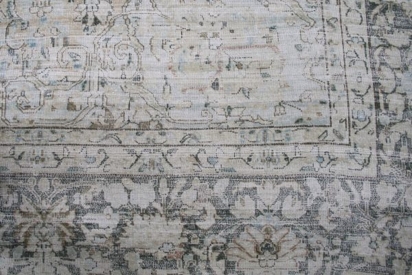 distressed traditional rug