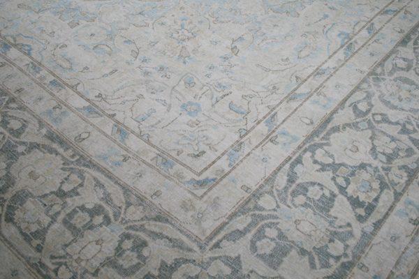 corner of vintage rug